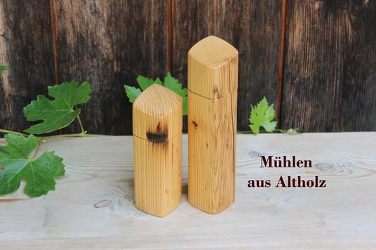 Bauermühlen aus Altholz