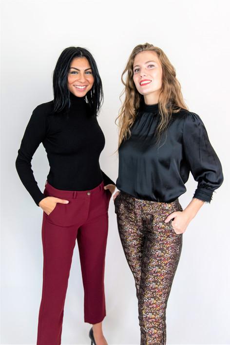 Tailleur Pietra et pantalon jacquard