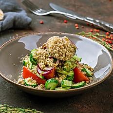 Овощной салат с грецкими орехами