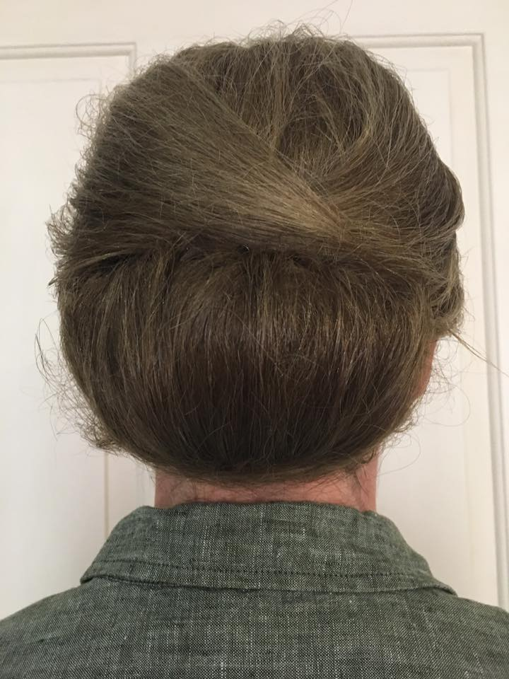 Garden Party hair up