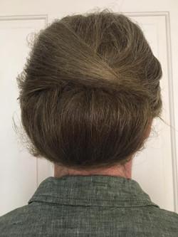 Garden Party hair up