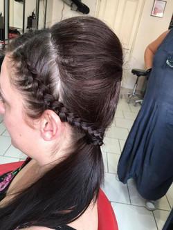 Yarmouth Races Hair up