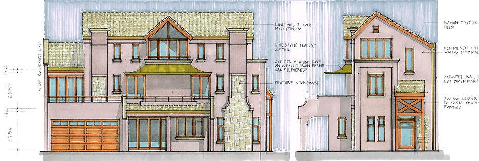 Luxury house design, architecturally designed.