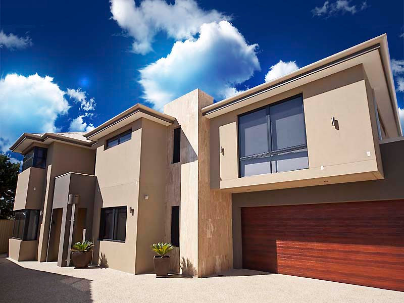 Impressive house design in Melville on a battleaxe lot. Contemporary house design. Architect house design Melville