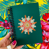 Caderno capa mdf