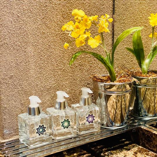 Vidrinhos para álcool gel