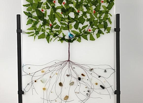 Tree of Life with Bluebird
