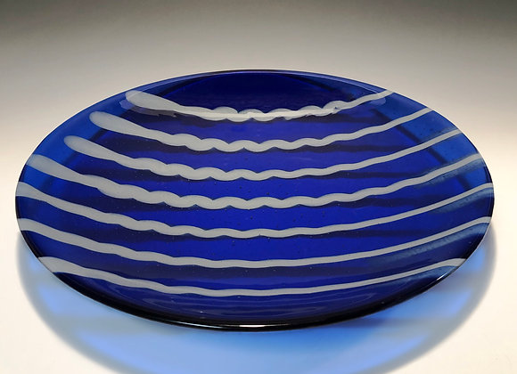 Wiggle Races Blue Platter