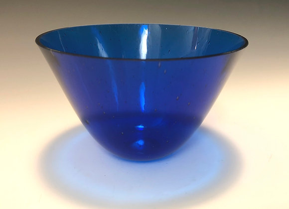 Cobalt Medium Drop Bowl