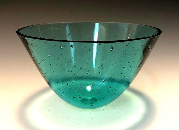 Aqua Medium Drop Bowl