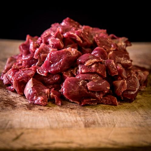 Diced Dartmoor Mutton (FROZEN)