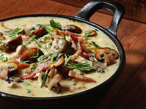 Creamy Chicken & Chesnut Mushroom (FROZEN)