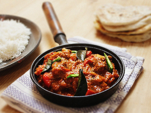 Dartmoor Mutton Jalfrezi (hot) (FROZEN)