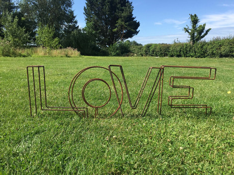 Rusty LOVE Letters