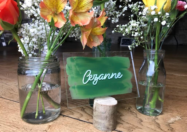 Personalised Table Names