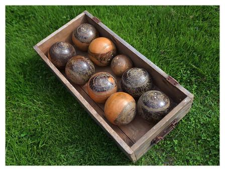 Vintage Wooden Bowls