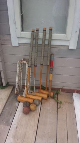 Vintage Croquet
