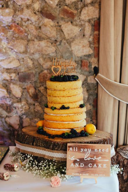Cake Log Stand