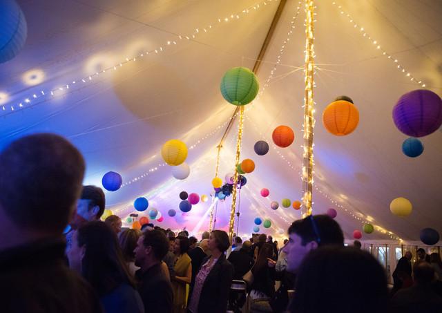 Colourful Paper Lanterns