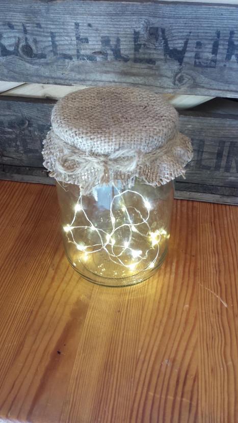 Fairy Light Jars