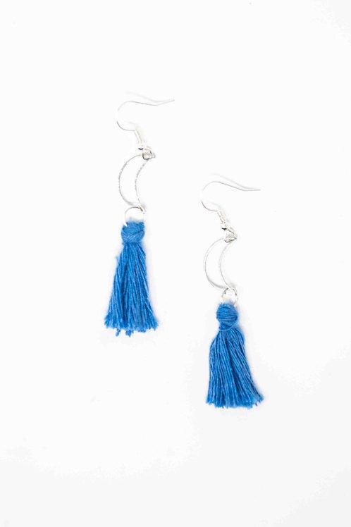 Tassel Moon Earrings