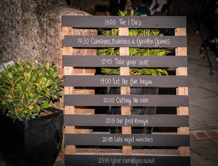 Bespoke Pallet Order of the Day