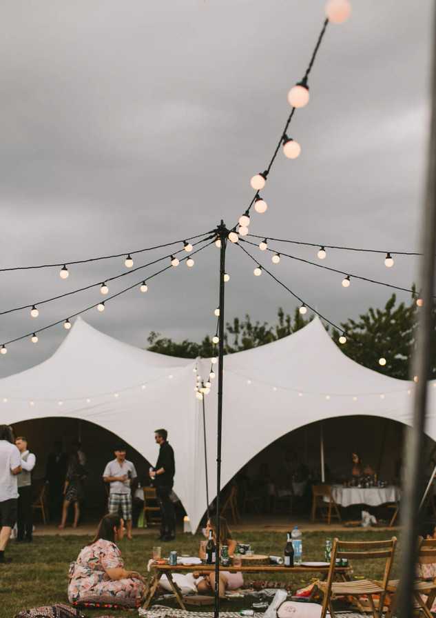 Festoon Star Canopy