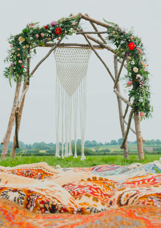 Rustic Arch with a Florists Touch