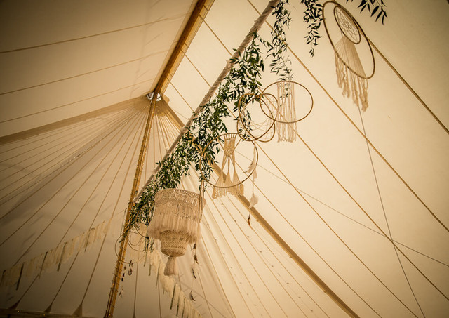 Boho Marquee Styling