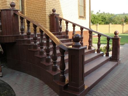Лестница + Балясины 3