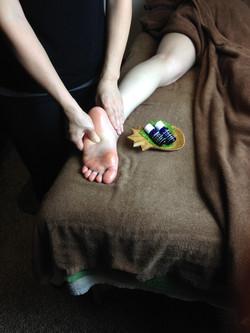 沖縄アロマスクール、aroma body treatment foot