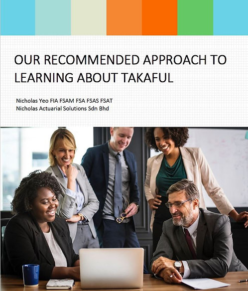 Our Recommended Approach to Learning about Takaful