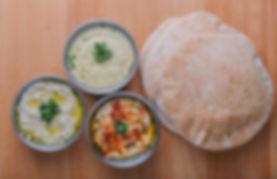 Hummus and Babaganoush