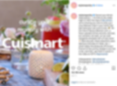 Style Me Pretty x Studio Dylan for Cuisinart instagra post