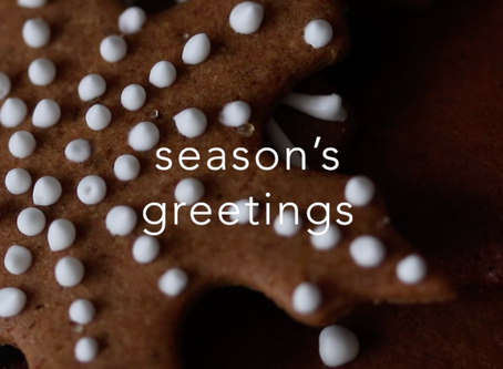 Gingerbread, streaming wars, PBS on YouTube, and happy new year!