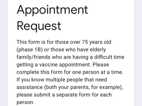 Know someone 75+ who is having trouble getting a vaccine? Check this out