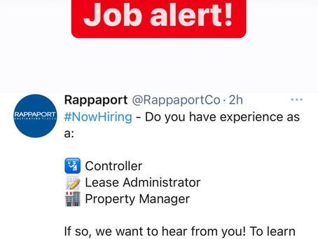 Rappaport Jobs