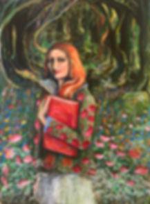 Rose acrylic on canvas 54 x 40 x 2 $ 360