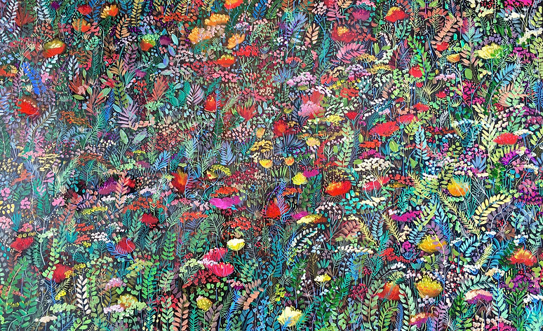 Garden of the heart 30 x 48 (for sale $2