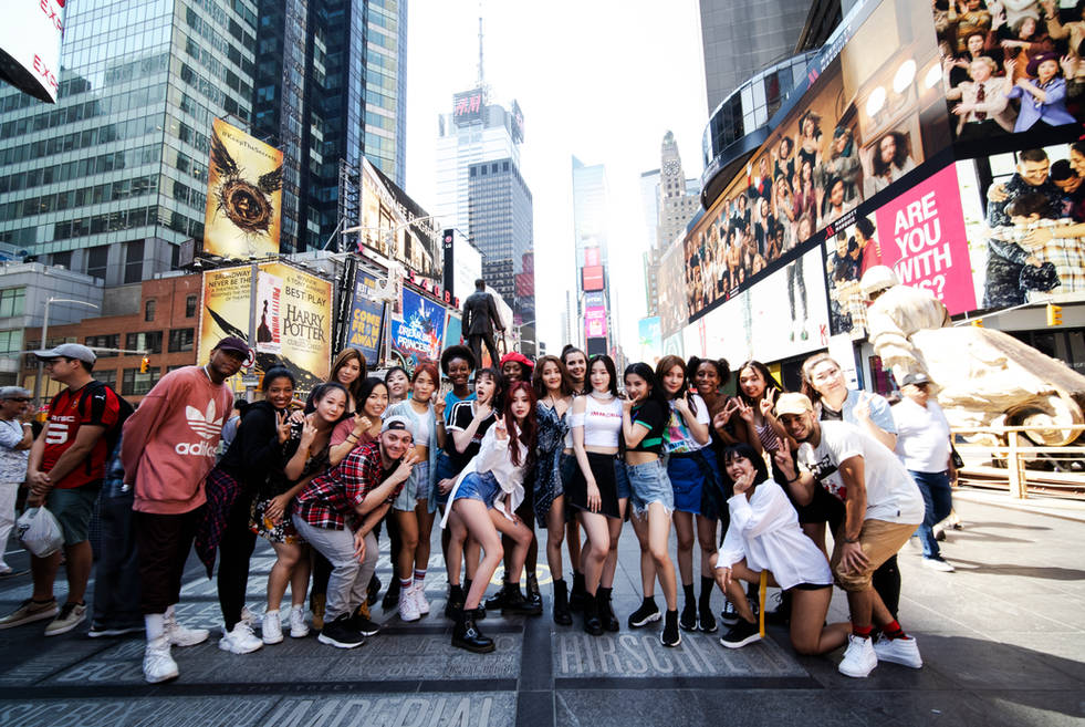 Flashmob in New York