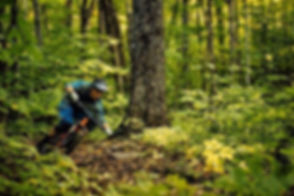 Guide _bikesmcandrew charging through the legendary lower J-bar trail last fall.jpg
