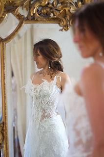 Robe de mariée Quiqui Lamothe bustier dentelle bohème