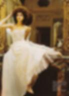 Robe de mariée Quiqui Lamothe bustier dentelle et jupe en organza, jupon de tulle