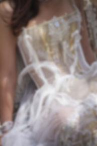 Robe de mariée bohème ethnic chic eau vive