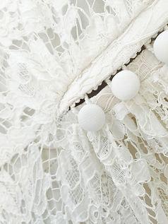 Robe de mariée bohème Quiqui Lamothe robe vintage à boutons couture