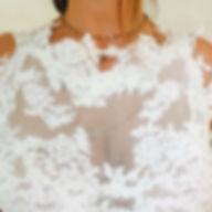 Robe demariée dentelle et tulle Quiqui Lamothe créatrice de robes de mariées sur mesures, bohème chic couture