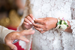 Mariage bohème chic Quiqui Lamothe partage d'alliances