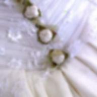 Boutons robe de mariée Quiqui Lamothe bohème couture