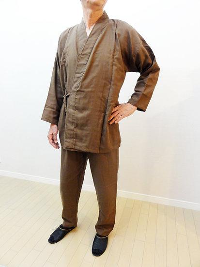 男性作務衣風パジャマ