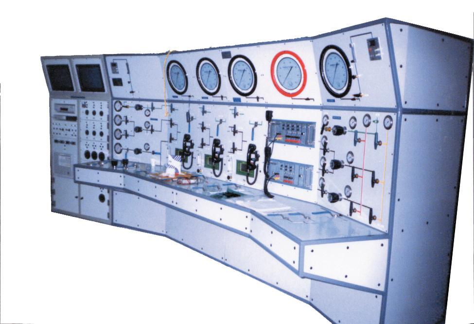 J565 Main Chamber Control Panel